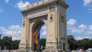 Arcul de Triumf din București, România